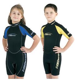 photo: Neosport 2mm Child's Neoprene Shorty wet suit