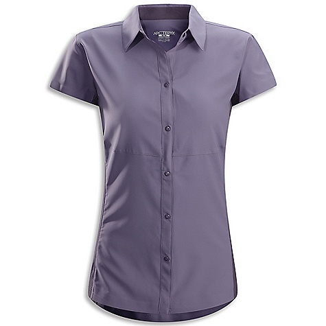 photo: Arc'teryx Libere Comp Cap-Sleeve Top hiking shirt