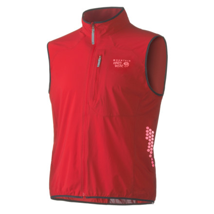 photo: Mountain Hardwear Men's Geist Vest wind shell vest