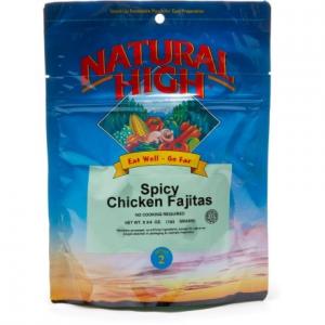 Natural High Chicken Fajitas