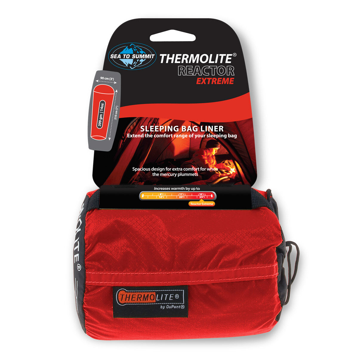 photo: Sea to Summit Thermolite Reactor Extreme Liner sleeping bag liner