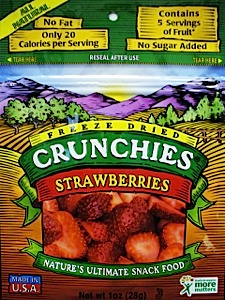 Crunchies Freeze-Dried Strawberries