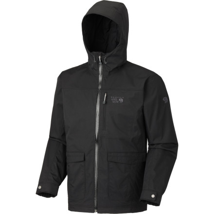 photo: Mountain Hardwear Ulster Jacket waterproof jacket