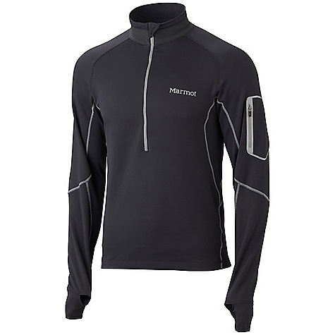 photo: Marmot Deviate 1/2 Zip long sleeve performance top