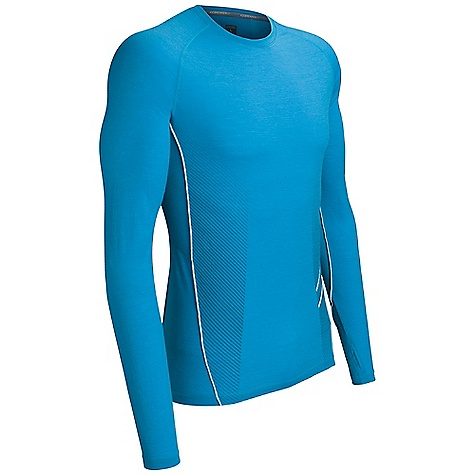 photo: Icebreaker Sonic Long Sleeve Crewe long sleeve performance top