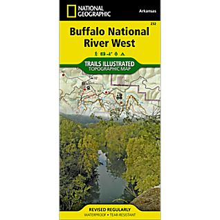 National Geographic Buffalo National River - West Half