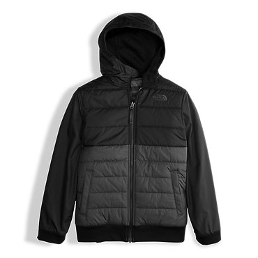 photo: The North Face Reversible Quilted Surgent Hoodie fleece jacket