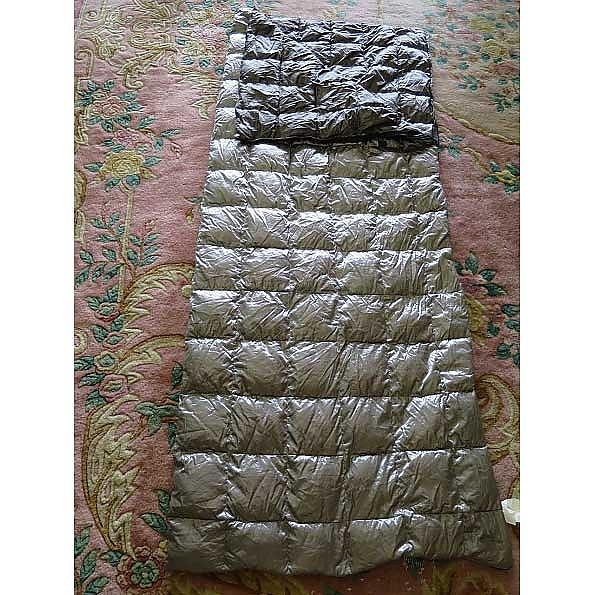 photo: Etowah Outfitters 50 Degree Down Sleeping Bag warm weather down sleeping bag