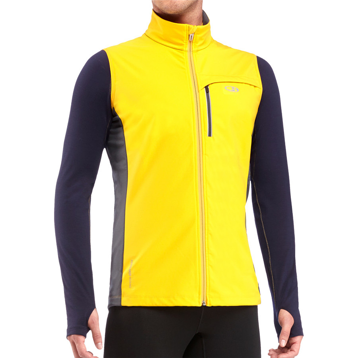 photo: Icebreaker Blast Vest soft shell vest