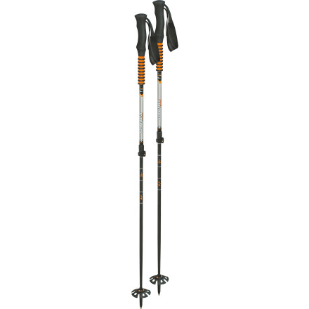 photo: Komperdell C7 Titanal Carbon alpine touring/telemark pole