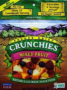 photo: Crunchies Freeze-Dried Mixed Fruit snack/side dish