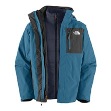 photo: The North Face Cassius Triclimate Jacket component (3-in-1) jacket
