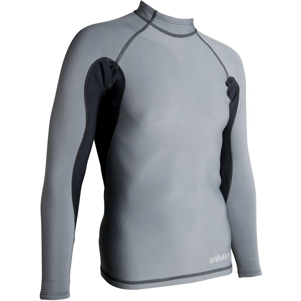 photo: Bomber Gear Hydrogen Neoprene Long Sleeve Top long sleeve paddling shirt