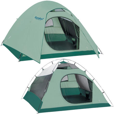 photo: Eureka! Tetragon 9 three-season tent
