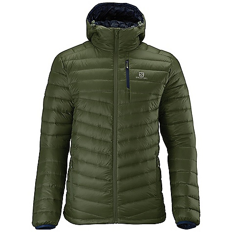 photo: Salomon Halo Down Hoodie down insulated jacket