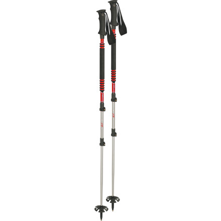 photo: Komperdell T3 Thermogrip Foam III Powerlock rigid trekking pole