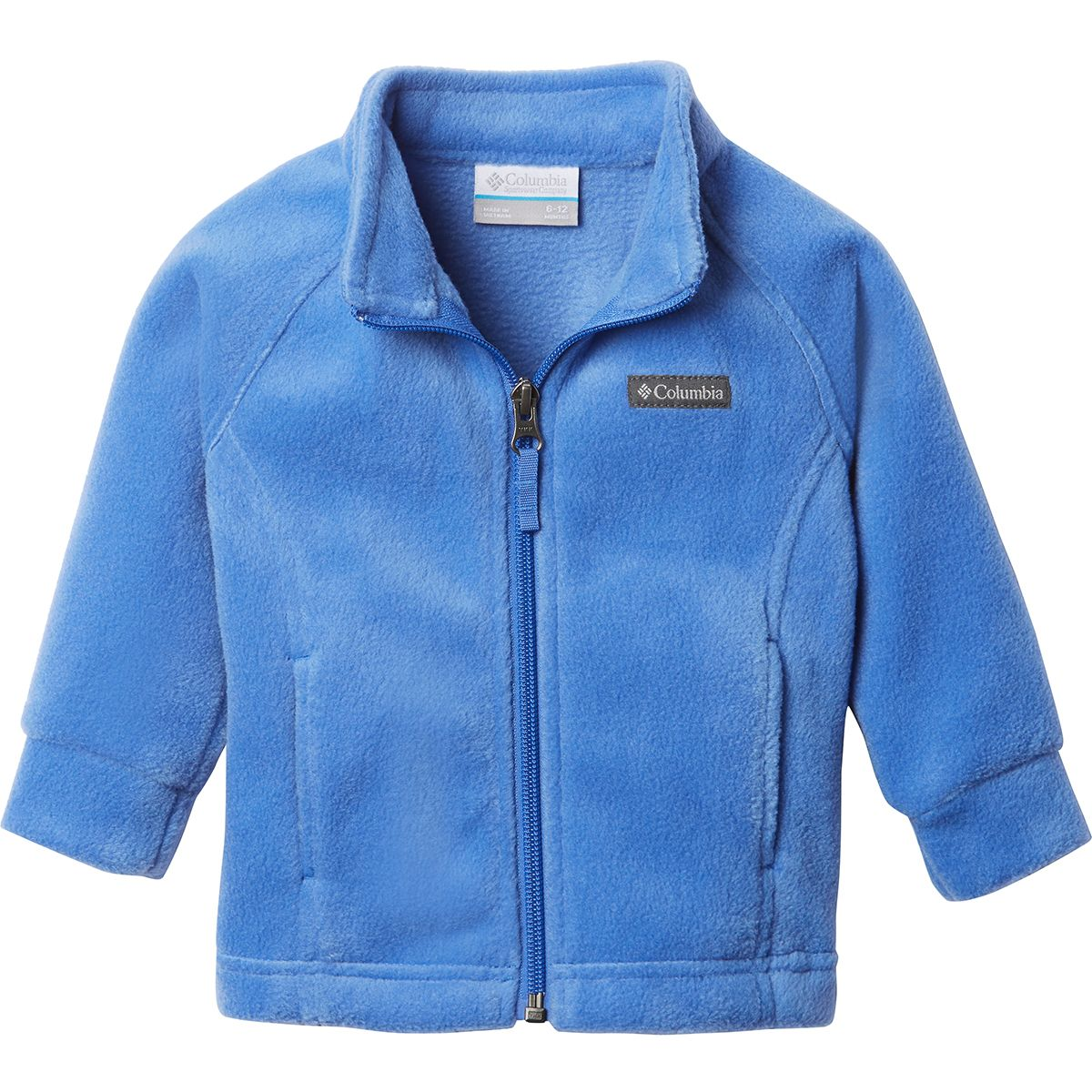 photo: Columbia Girls' Benton Springs Fleece fleece jacket