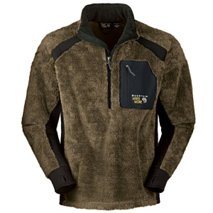 photo: Mountain Hardwear Monkey Man Zip T fleece top