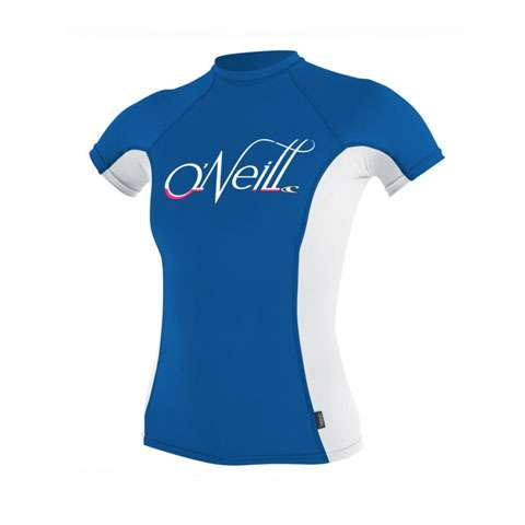 photo: O'Neill Women's Skins S/S Crew short sleeve rashguard