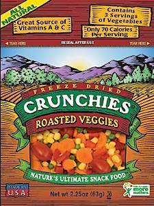 Crunchies Freeze-Dried Roasted Veggies