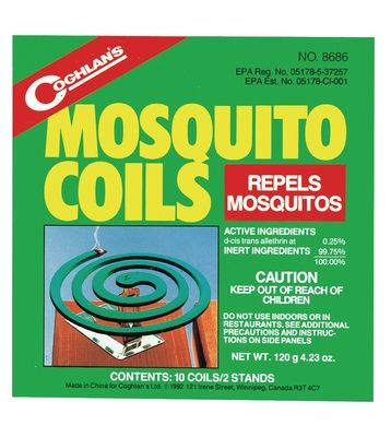 photo: Coghlan's Mosquito Coils insect repellent
