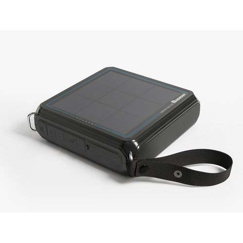 photo: Renogy E.TUNES Solar Bluetooth Speaker solar panel