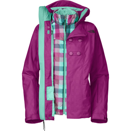 photo: The North Face Pixey Triclimate Jacket component (3-in-1) jacket