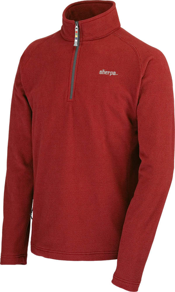 photo: Sherpa Adventure Gear Jaaro Micro-Fleece Quarter Zip fleece top