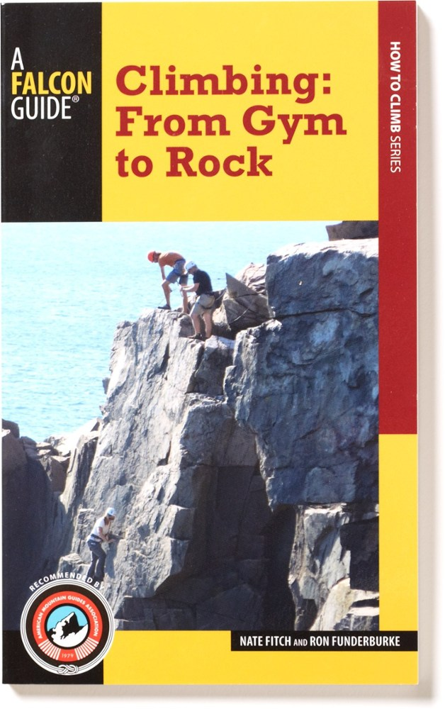 photo: Falcon Guides Climbing: From Gym to Rock climbing book