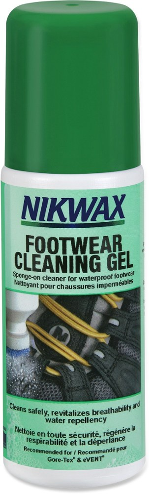 photo: Nikwax Footwear Cleaning Gel footwear cleaner/treatment