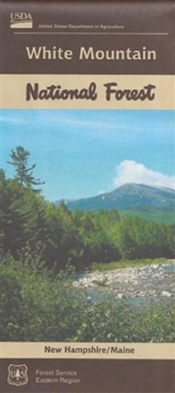 U.S. Forest Service White Mountain National Forest Map