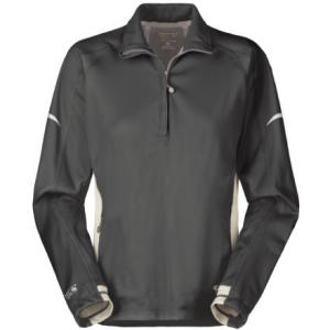 photo: Mountain Hardwear Women's Transition Zip T wind shirt
