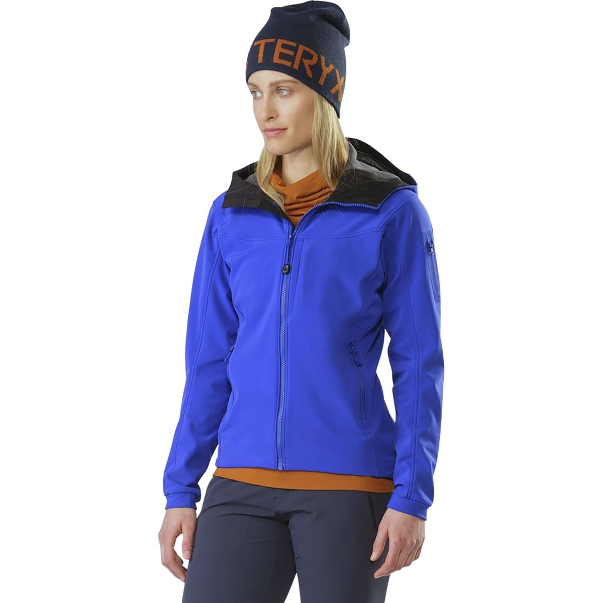 photo: Arc'teryx Women's Gamma MX Hoody soft shell jacket