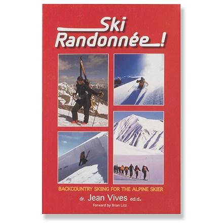 photo of a Jean Vives backcountry ski book