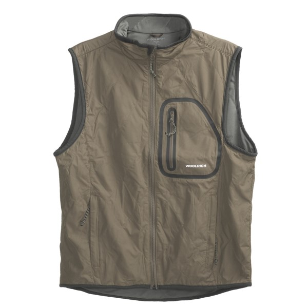 photo: Woolrich Weatherchaser Vest wind shell vest