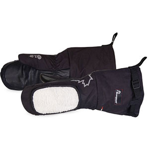 Superior Glove SnowForce Deluxe Calfskin Extreme Cold Weather Mitt