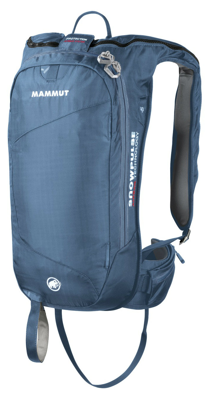 photo: Mammut Rocker Removable Airbag avalanche airbag pack