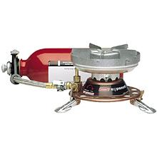 photo: Coleman Exponent Apex II liquid fuel stove