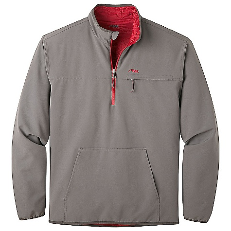 photo: Mountain Khakis Alpha Switch Quarter Zip synthetic insulated jacket