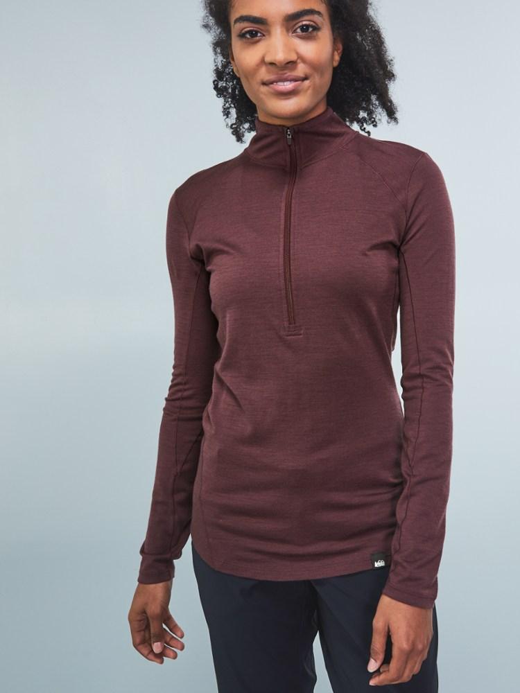 REI Merino Wool Half-Zip Top