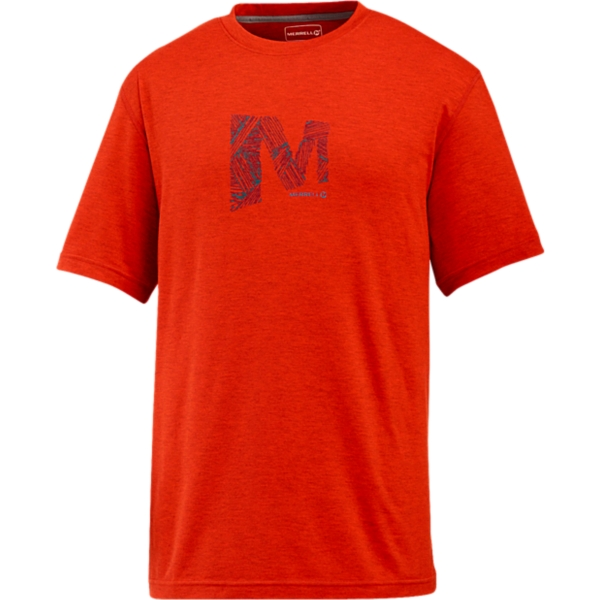photo: Merrell M Logo Ionic Tee short sleeve performance top