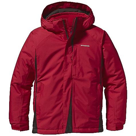 photo: Patagonia Boys' Snow Flyer Jacket waterproof jacket