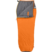 photo: The North Face Dolomite 2S 40F warm weather synthetic sleeping bag