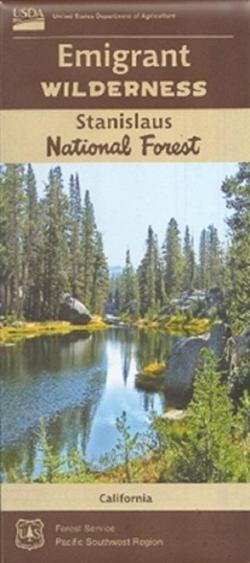 U.S. Forest Service Emigrant Wilderness Map