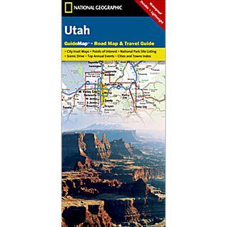 National Geographic Utah Map