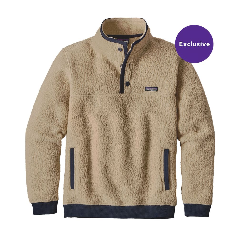 Patagonia Shearling Fleece Pullover
