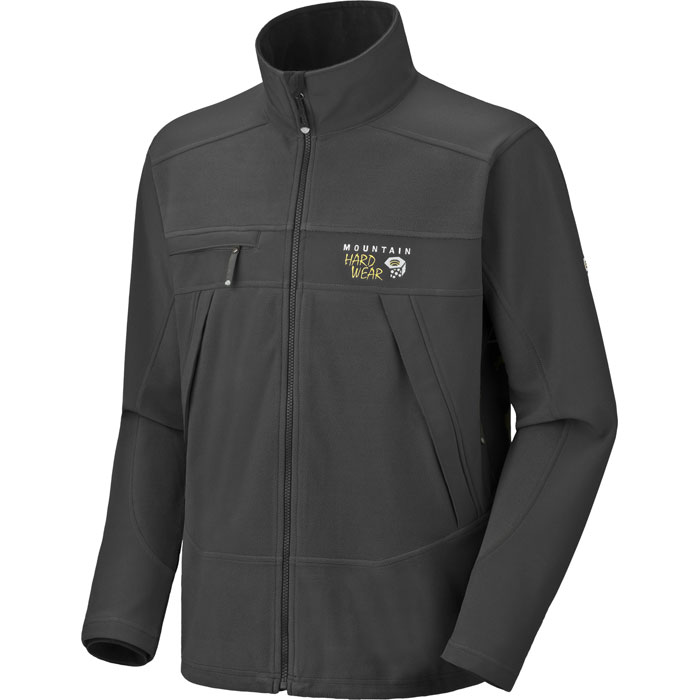 photo: Mountain Hardwear Windstopper Tech Jacket fleece jacket
