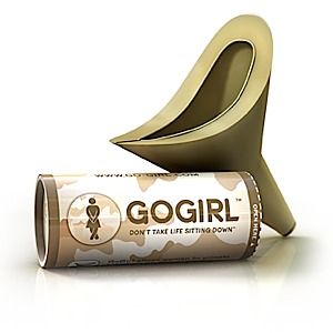 photo of a GoGirl waste and sanitation supply/device