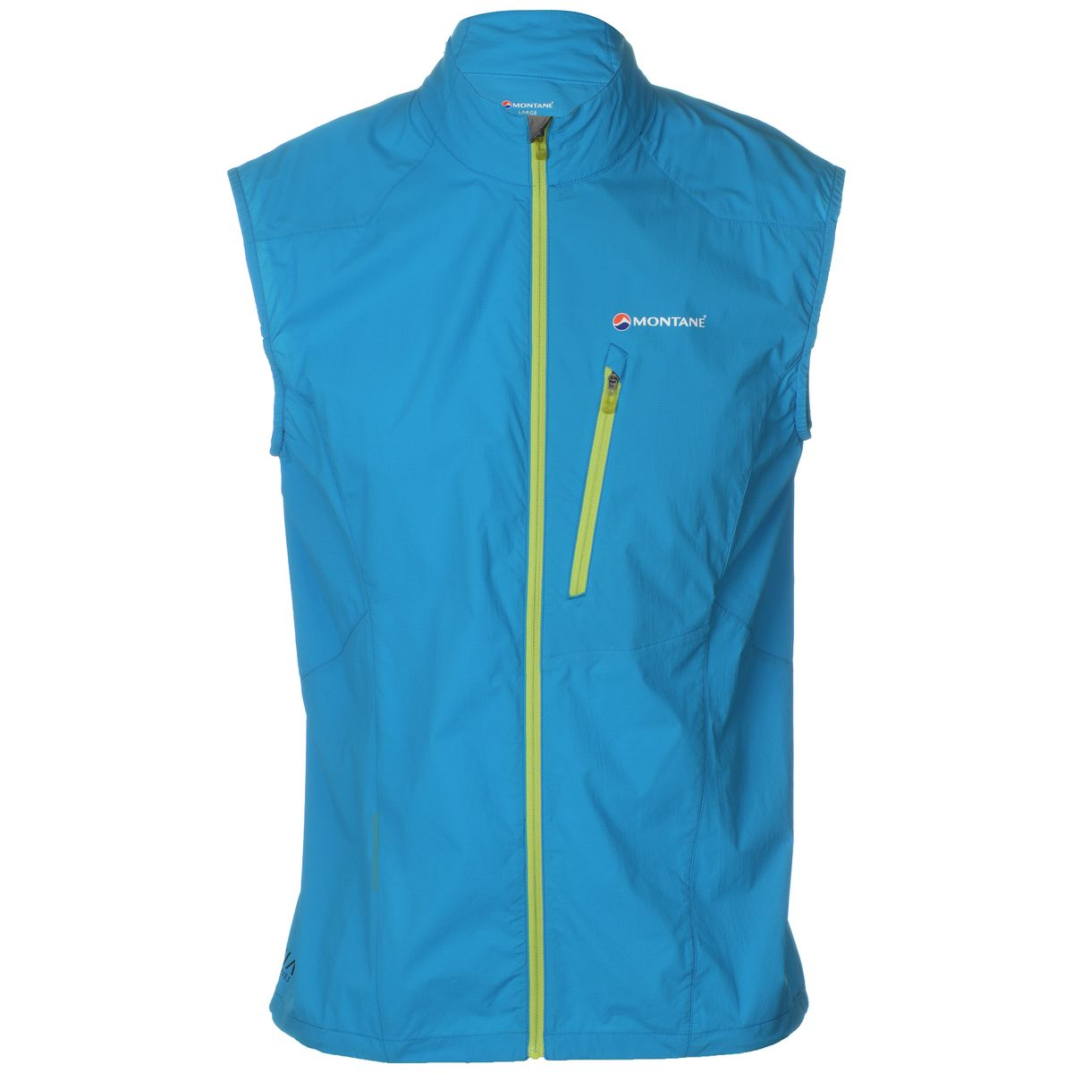 photo: Montane Featherlite Trail Vest wind shell vest