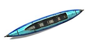 photo: Klepper Aerius XXL 585 Expedition Family Triple folding kayak